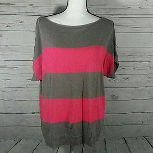 Ann Taylor color block knit top NWT XL
